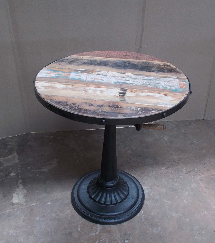 Industrial antique pub tables cast iron base cafe furniture buy cast iron bistro table english pub table antique periodic table product on alibaba com