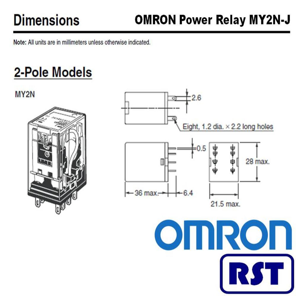 Omron My2n 24vdc Relay Wiring Diagram 5 Pole Schema Online