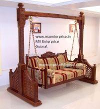 Teak Wood Indoor Indian Jhula Swing For Home - Buy Indoor ...