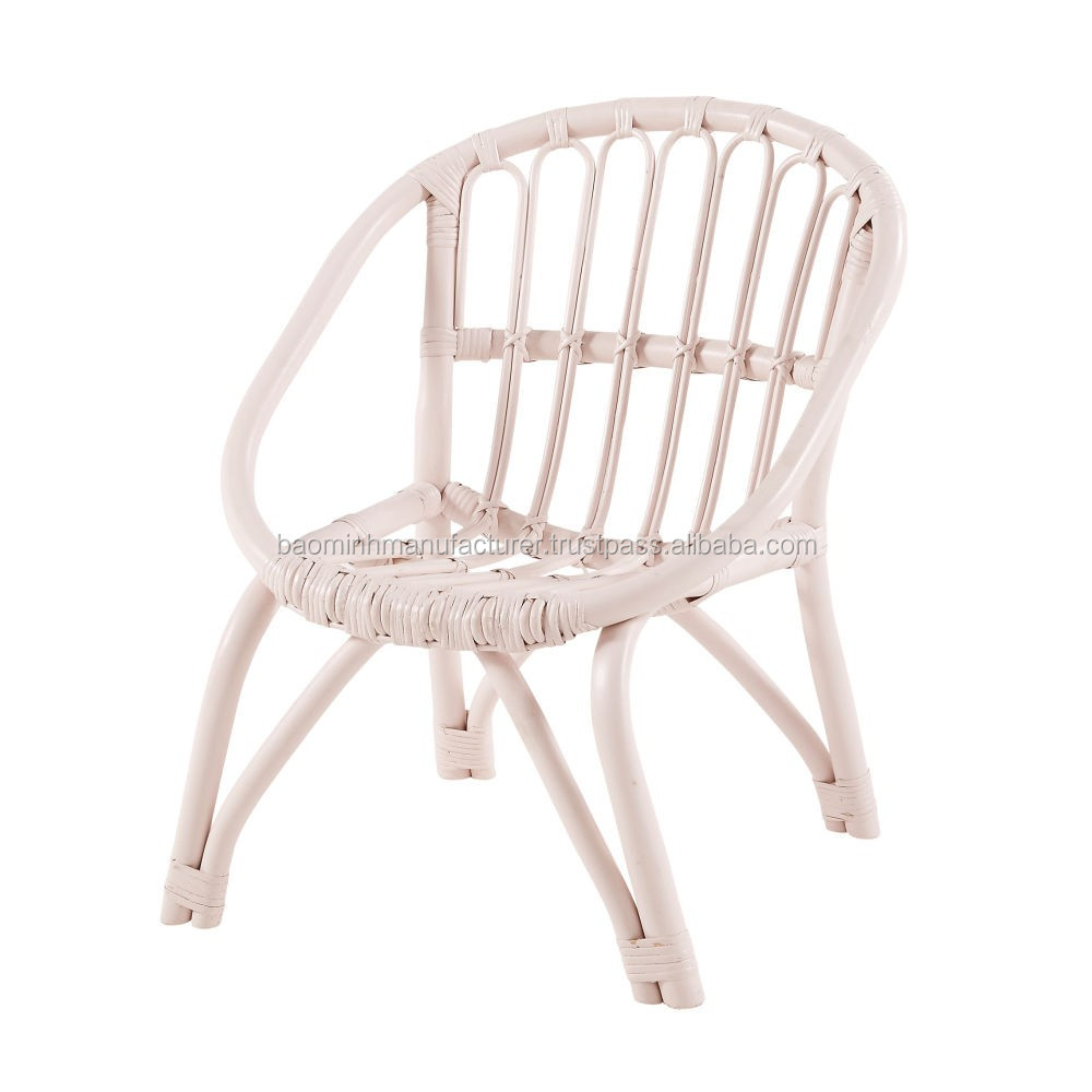 Painted Rattan Furniture Light Pink Painted Rattan Chair For Baby Girl Buy Kid Rattan Chair Rattan Chair For Baby Small Rattan Chair Product On Alibaba