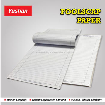 Bulk Ordering For Foolscap Paper Printing,Single Lined Printed For