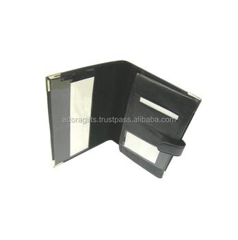 Auto Document Holder/ Car Document Organizer - Buy Leather Car