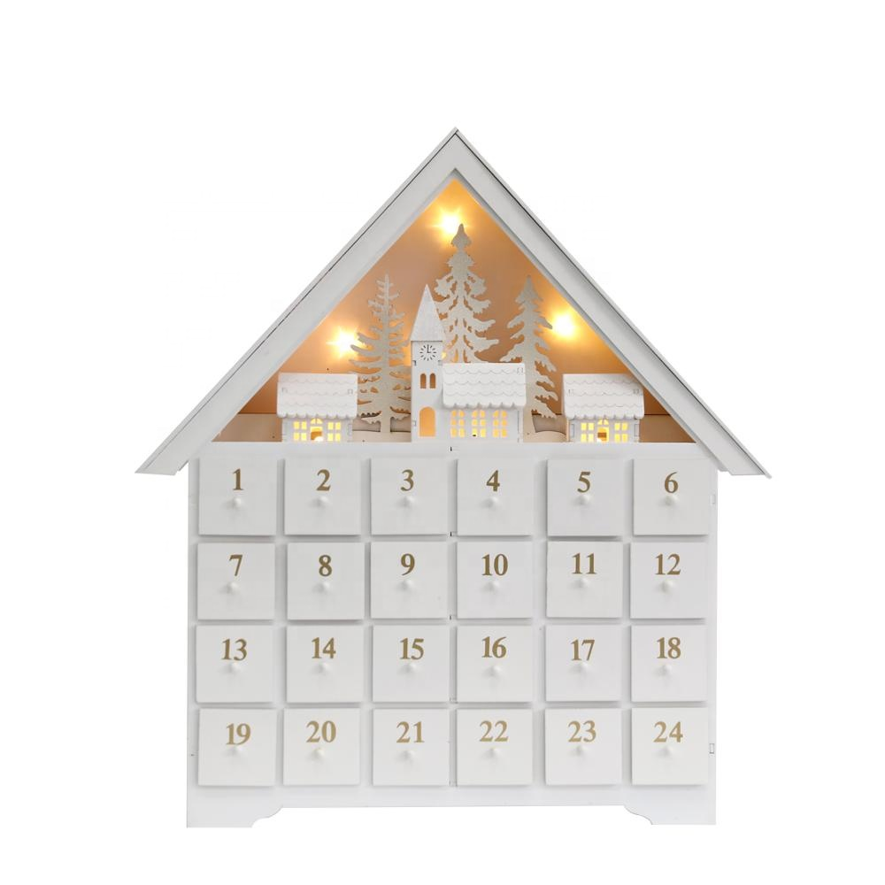 Patented Christmas Reusable Wooden Advent Calendar Large House With 24 Drawers Christmas Countdown Decoration Buy Wooden Advent Calendar Christmas Decoration Reusable Advent Calendar Product On Alibaba Com