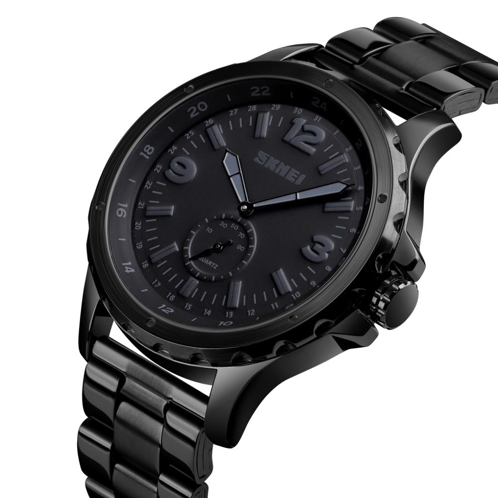 Men Luxury Quality Watch Brands Fashion Quartz Wristwatches Black Waterproof Mens Relojes Buy Quality Mens Watch Quartz Relojes Hombre Custom Brand Watch Product On Alibaba Com
