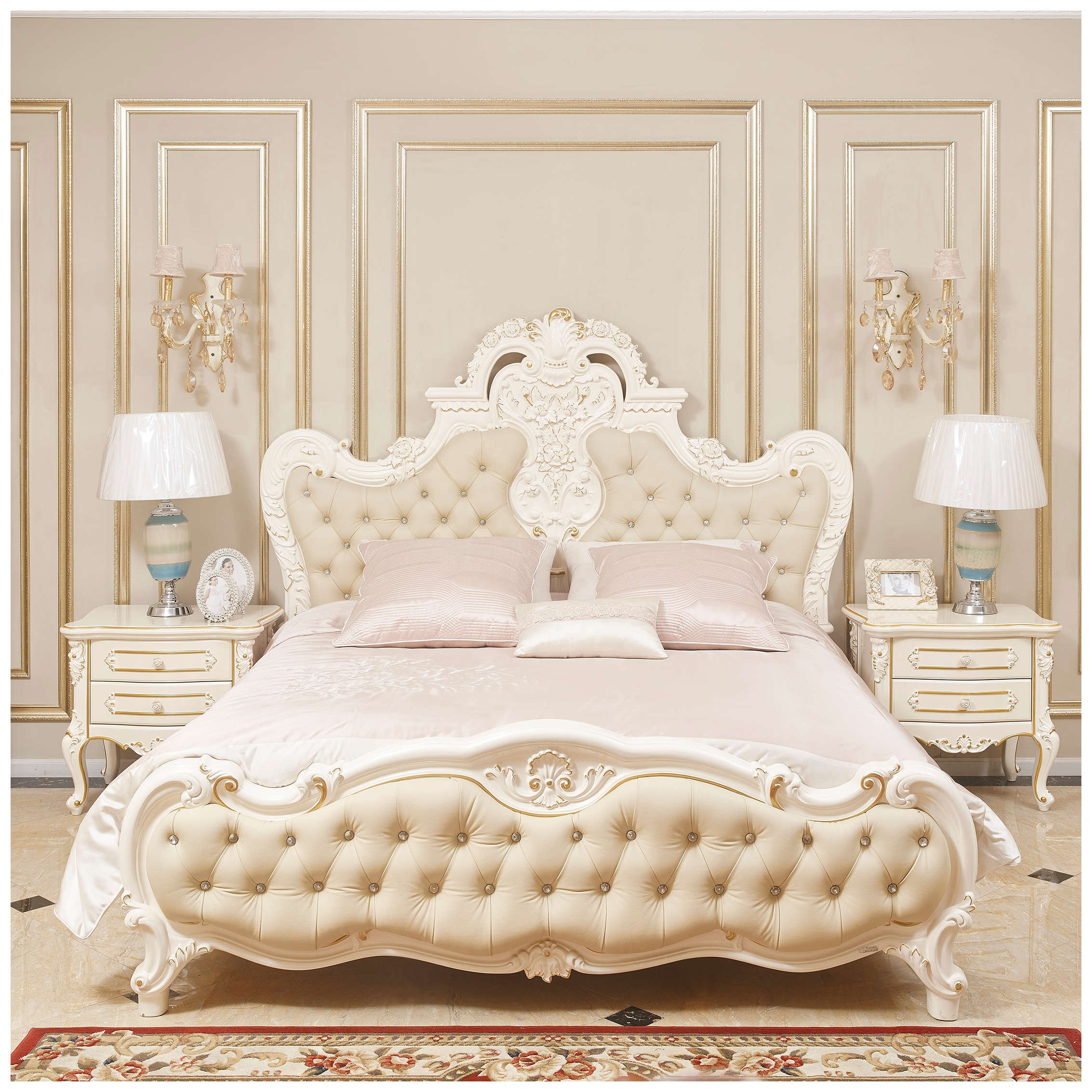 European Style Bed Furniture Antique Italian Style Bed Room Classic Furniture Buy European Style Furniture Bed Furniture Classic Furniture Product On Alibaba Com