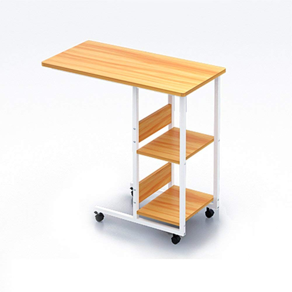 Small Tables Bedside On Wheels With 2 Tier Shelves And Rolling Casters Eco Friendly Sofa Overbed For Bedroom Living Room Buy C Table Small Side Tables For Living Room Furniture Side Table Product On Alibaba Com