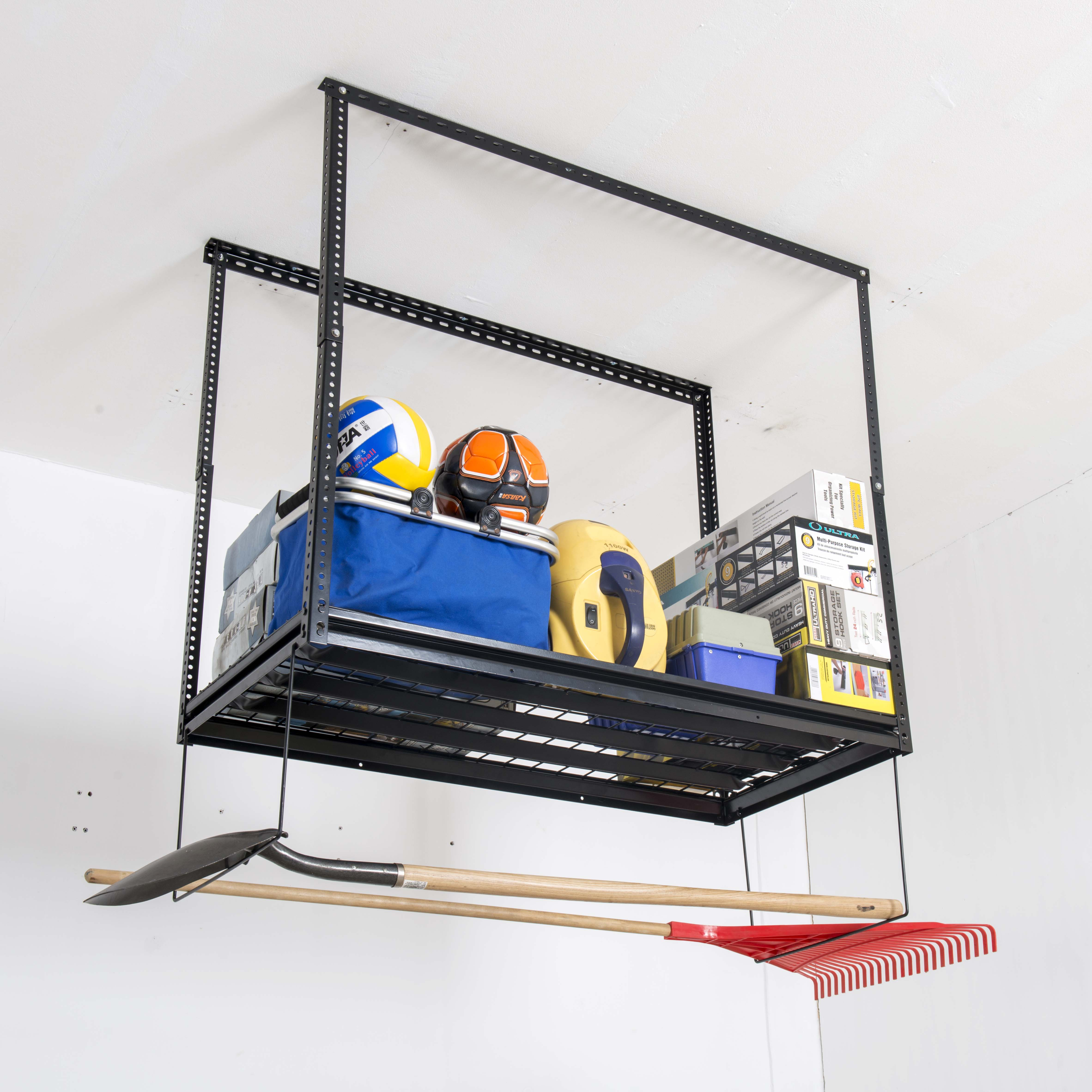 High Quality Custom Ceiling Storage Racks Garage Storage Ceiling Rack View Diy Garage Ceiling Storage T Nine Tools Product Details From Quzhou T Nine Tools Co Ltd On Alibaba Com
