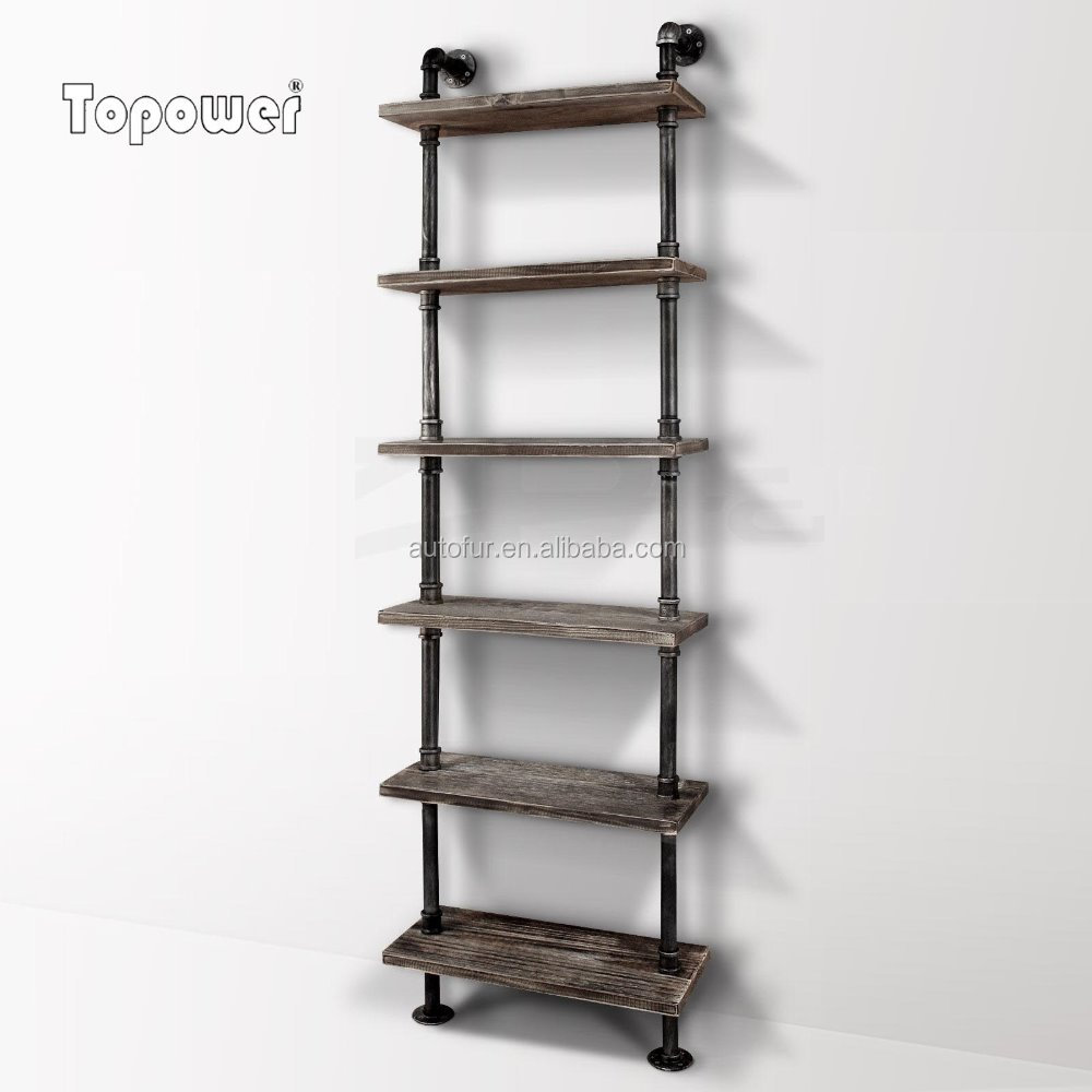 Wasserrohr Regal Industrie Retro Stil Diy Eisen Rohr Regal Wand Montieren Bücherregal Lagerung - Buy Industrie Wand Decor Regal,holz Dekorative Metall Wand Regal,metall Rahmen Holz Dekorative Metall Wand Regal Product On Alibaba.com