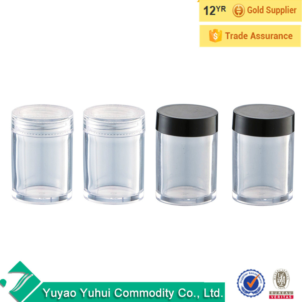 Clear Cosmetic Plastic Sample Makeup 50 Pc Container Jar Empty Small 5 G New Buy Cosmetic Bottle Travel Product On Alibaba Com