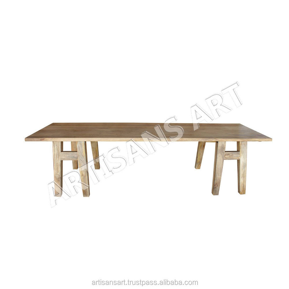 Rustic Solid Wood Dining Table Modern Contemporary Dining Table Mango Wood Furniture Buy Rustic Solid Wood Dining Table Dining Room Furniture Contemporary Dining Table Product On Alibaba Com