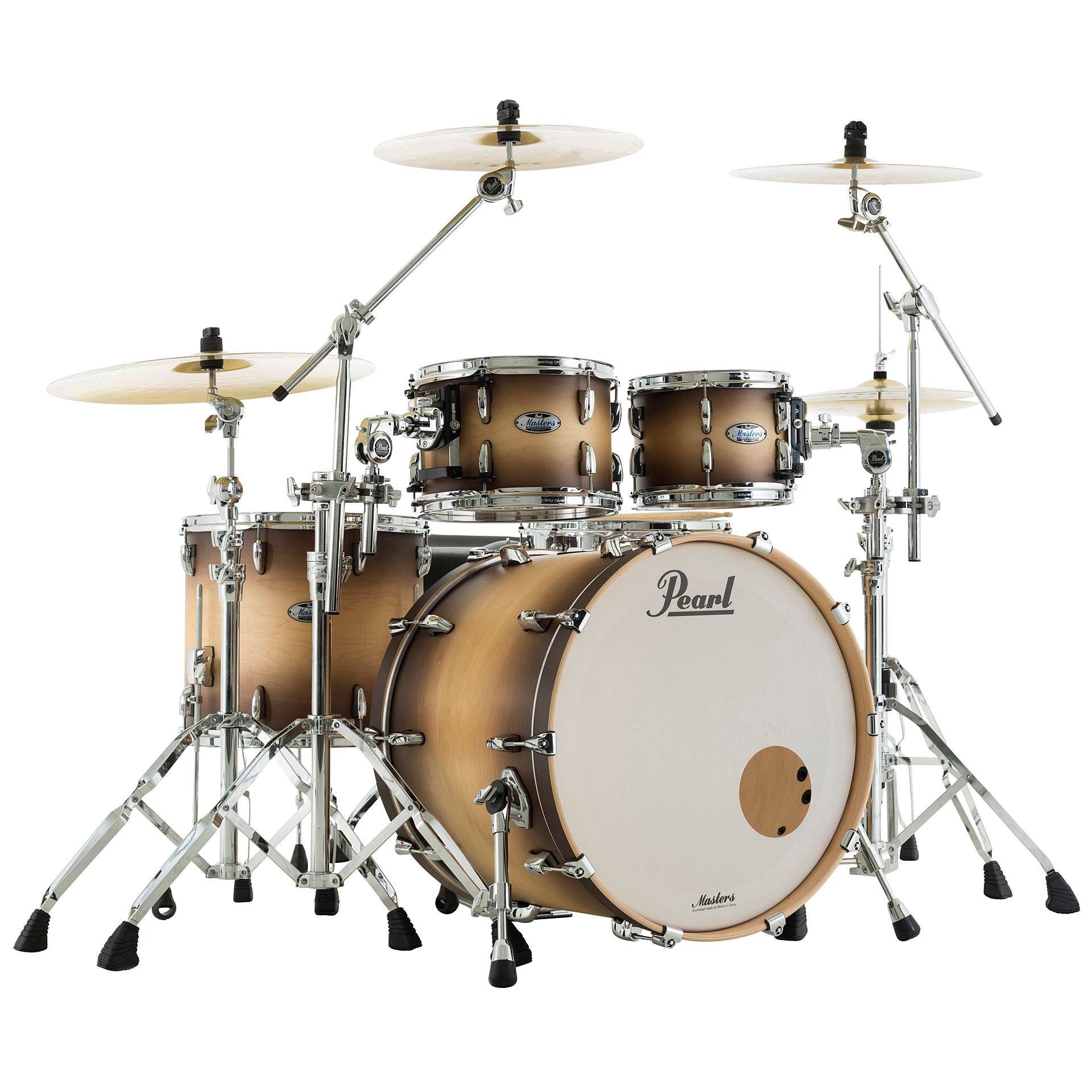 Erfahrung Synonym Pearl Masters Maple Complete 22 Quot Satin Natural Burst