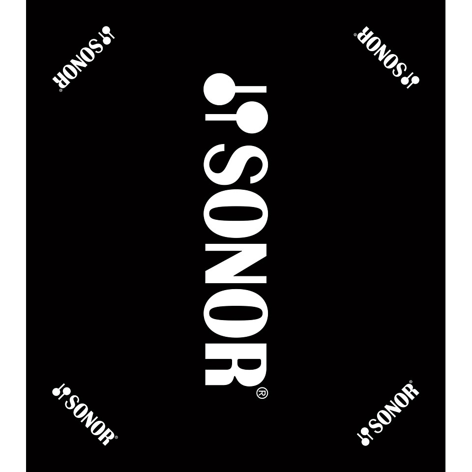 Teppich 160x180 Sonor Black Carpet With Sonor Logo 160 X 180 Cm