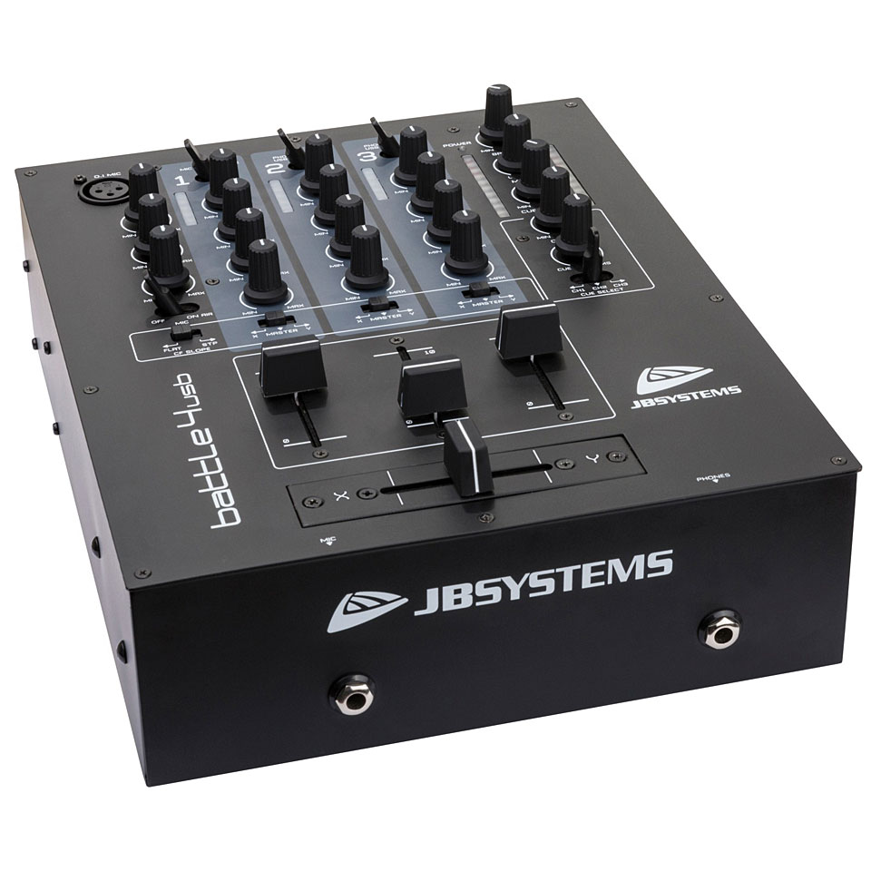 Dj Mesa De Mezclas Jb Systems Battle4 Usb