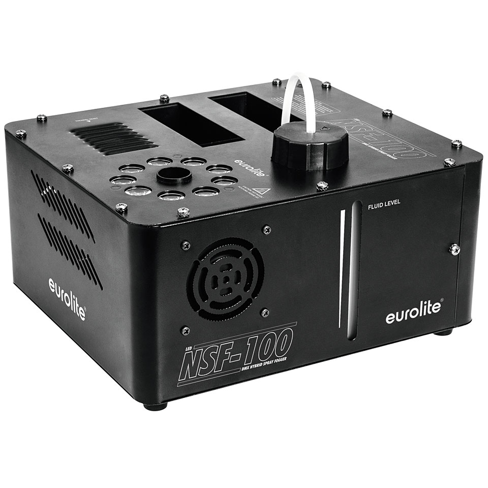 Led Dmx Eurolite Nsf 100 Led Dmx Hybrid Spray Fogger