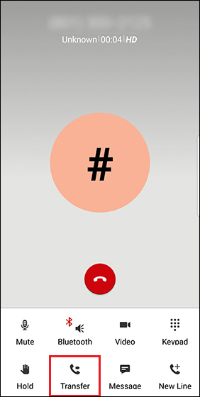 One Talk - Transfer Call Verizon Wireless