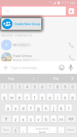 Verizon Messages - Android - Create a Group Contact List Verizon