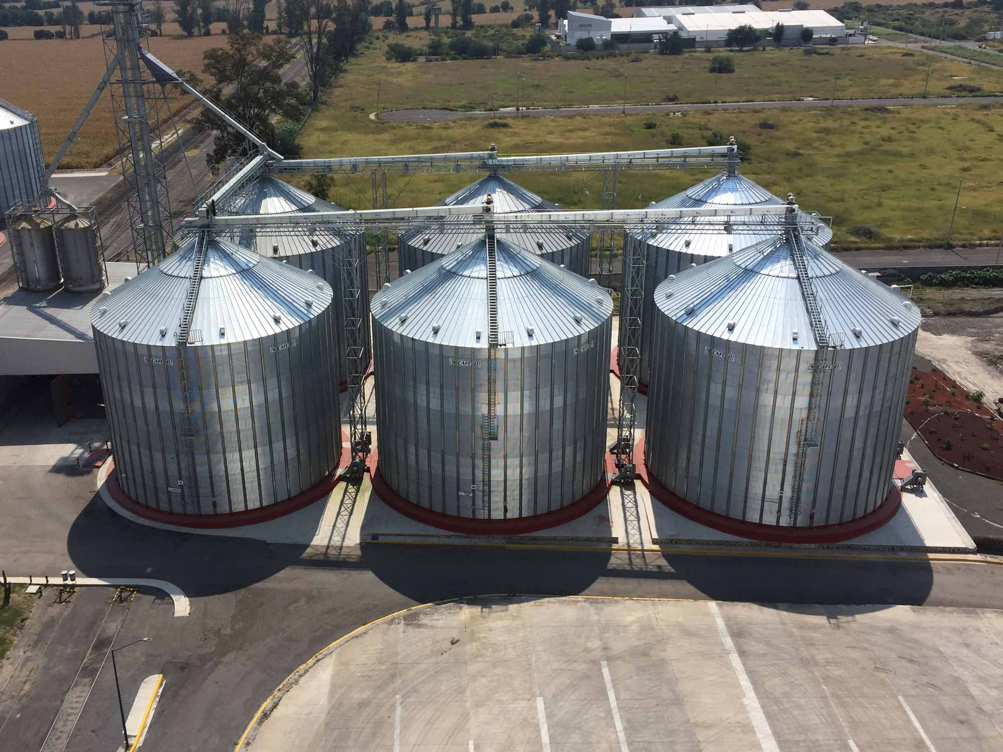 Cellule A Grain Exterieur Grain Storage Bins Listitdallas