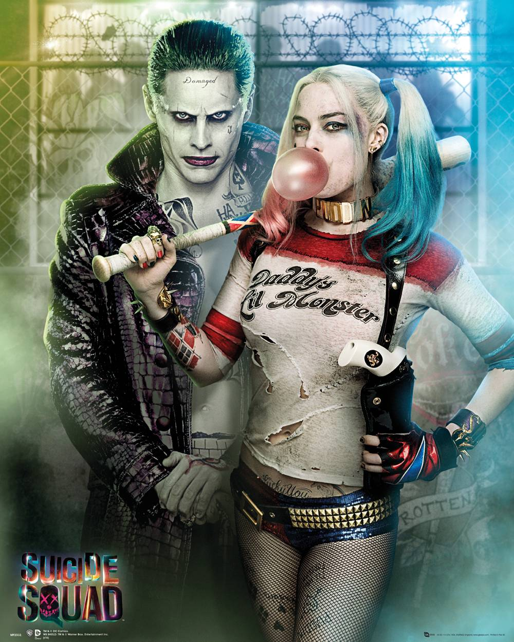 Harley Quinn Bettwäsche Kaufe Suicide Squad Joker And Harley Quinn Mini Poster 40x50cm