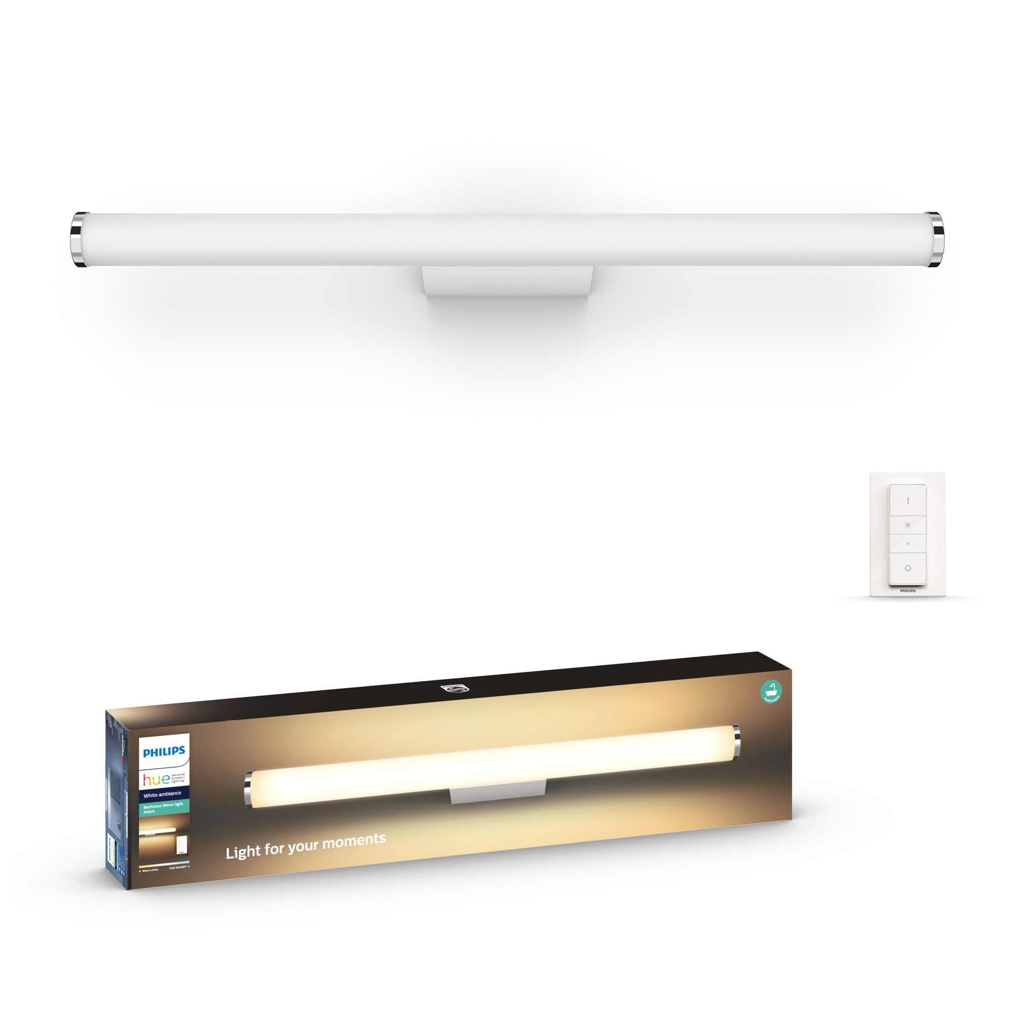 Kaufe Philips Hue Adore Wall Lamp White 1x20w Bathroom White Ambiance