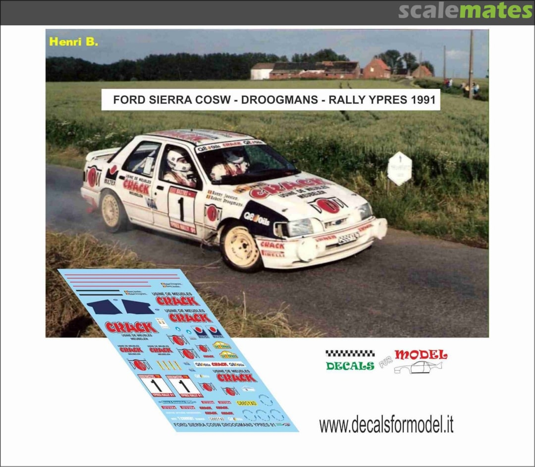Meubles Ypres Ford Sierra Rs Cosworth 4x4