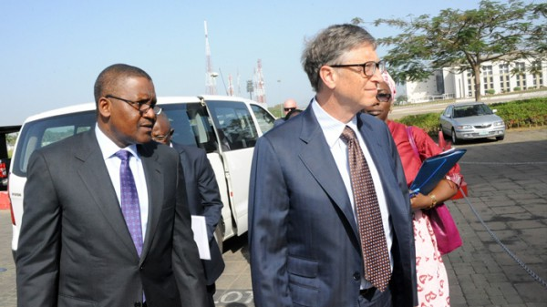 Commitment from Gates and Dangote