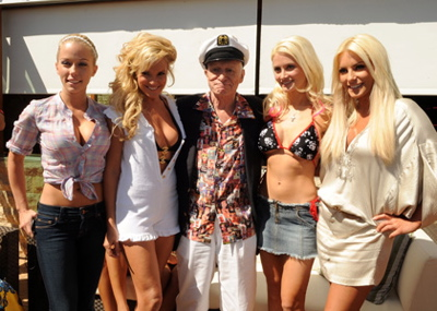 Hugh Hefner wants you to understand that women have always been sex objects.