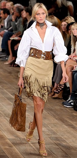 Ralph Lauren: Goes West for Spring/Summer 2011.