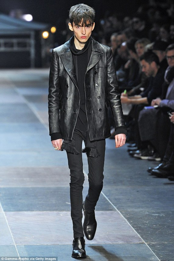 Manorexic? Skinny male fashion models in Paris cause outcry.