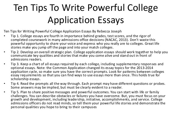 How to make your college essay more appealing? - college essay
