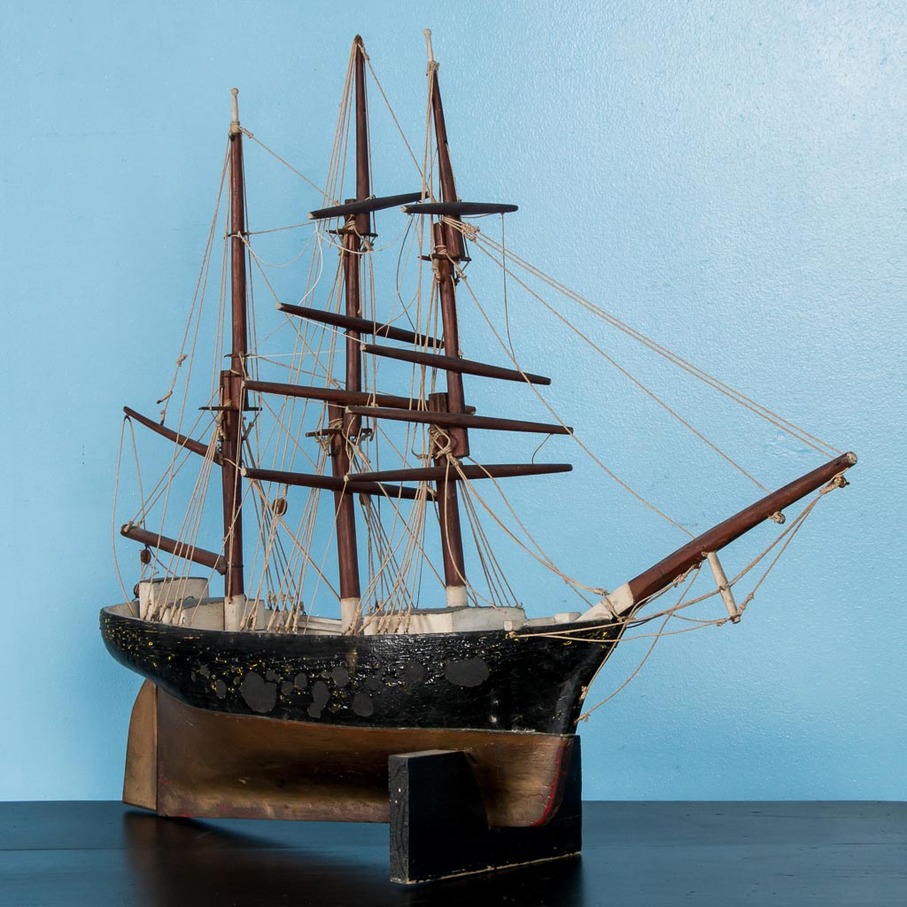 Buffets In Denver Early 20th Century Antique Model Ship From Denmark