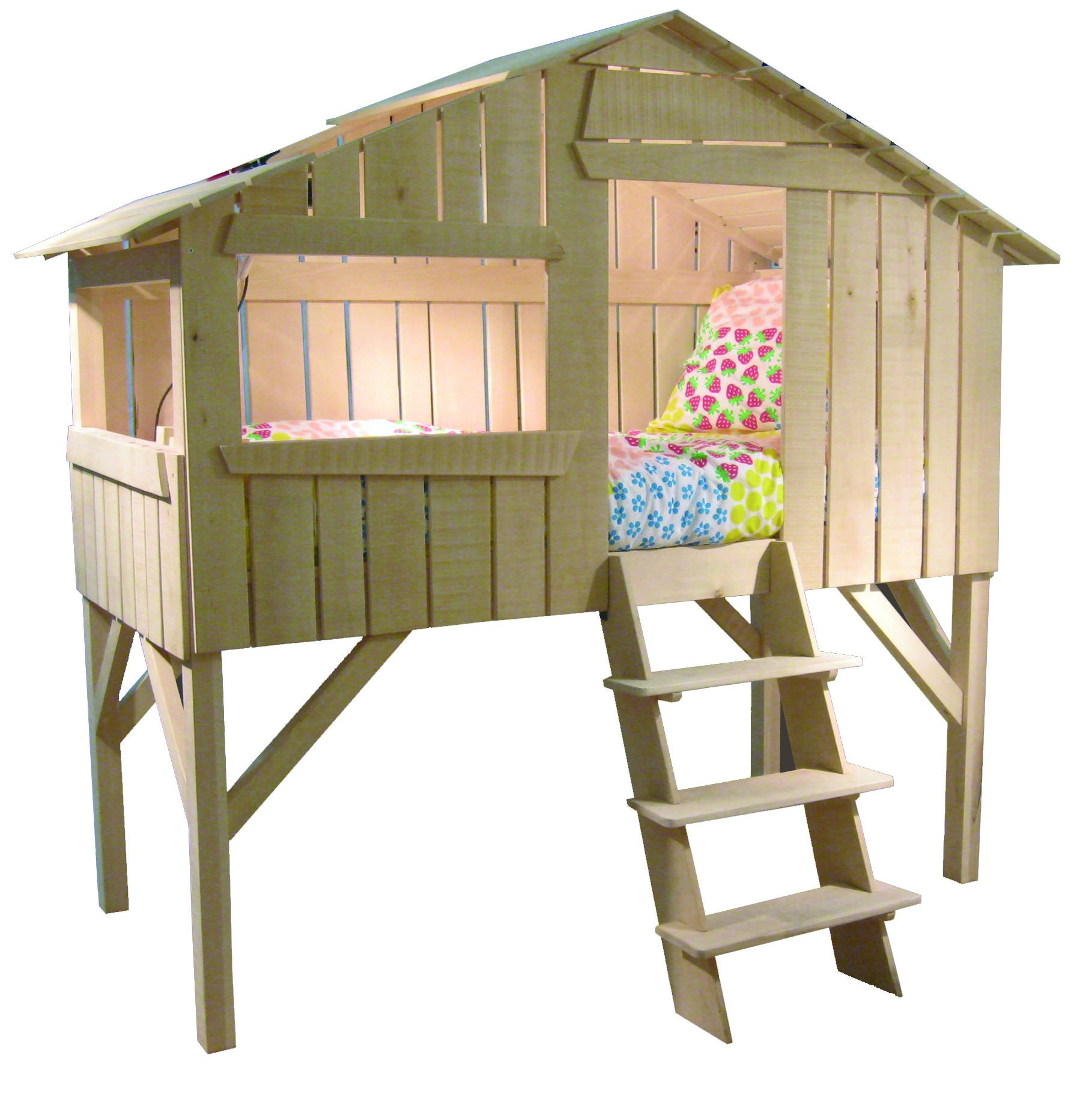 Tuto Lit Cabane Lit Cabane Enfant Simple Couchage Vernis Naturel