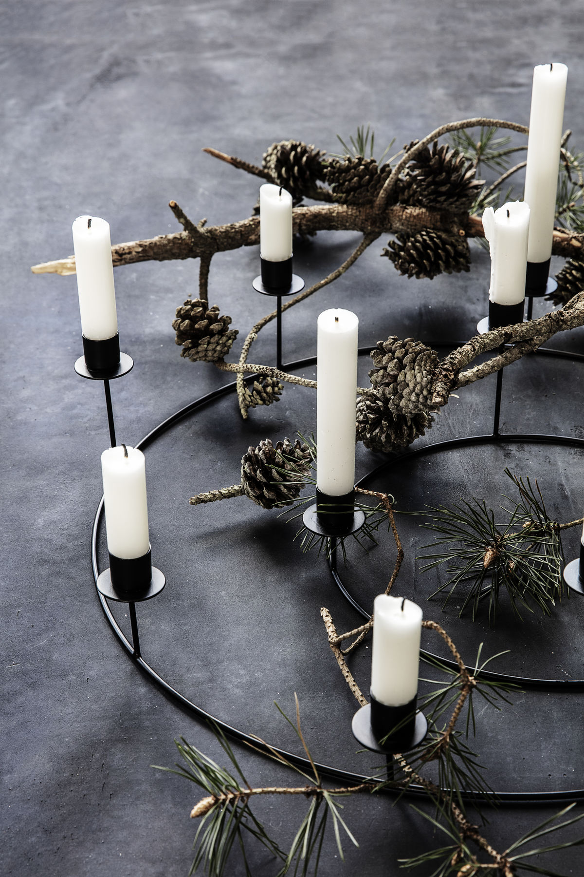 House Doctor Candle Stand Ring Black Kerzenhalter Home Goods Home Scandi Club Lovely Scandinavian Things