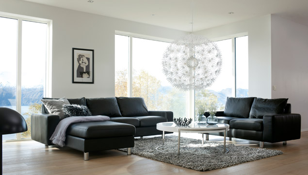 Sectional Contemporary Furniture At Scandinavia Furniture - Natuzzi