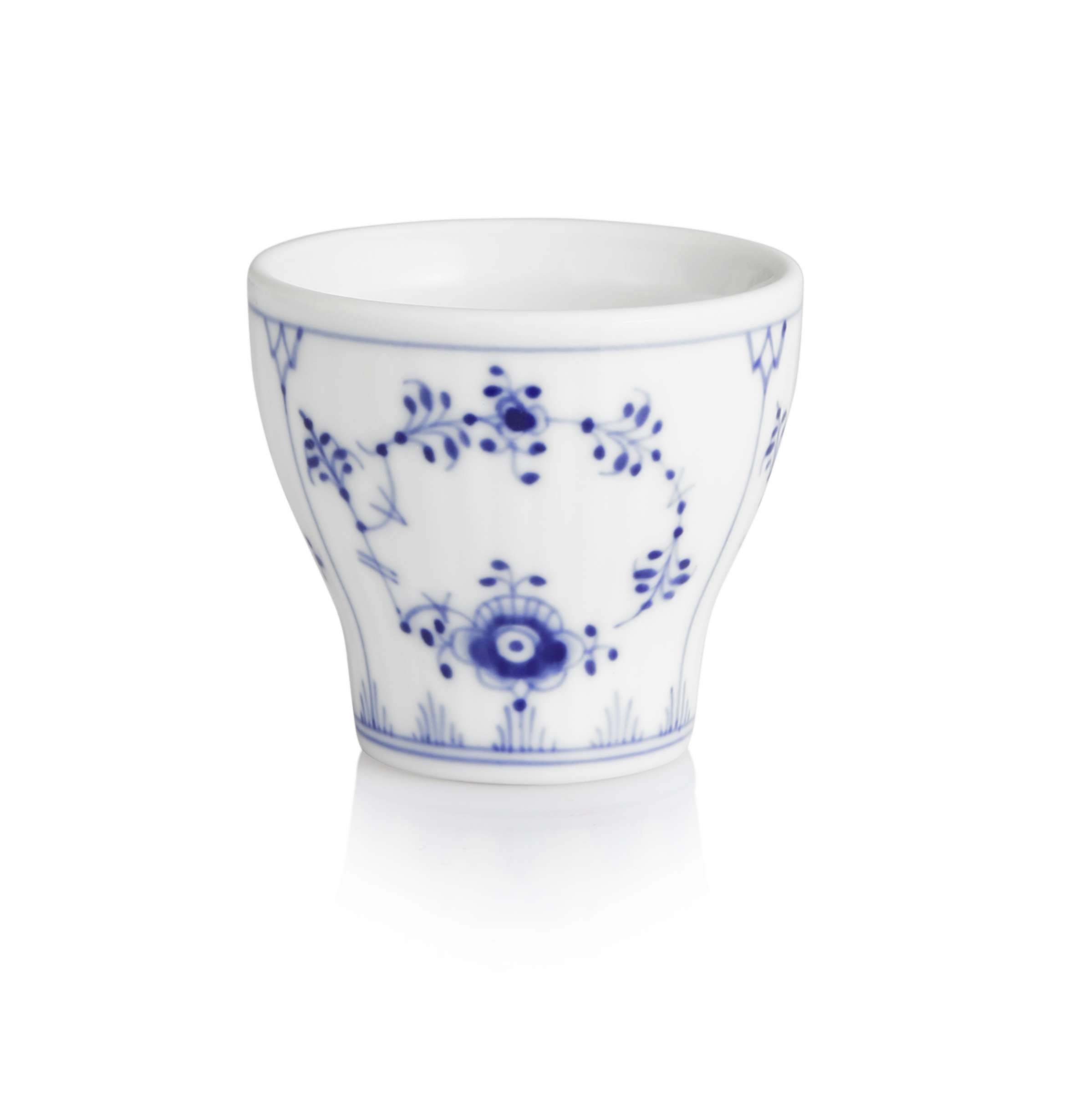 Royal Copenhagen Geschirr Royal Copenhagen Blue Fluted Plain Egg Cup