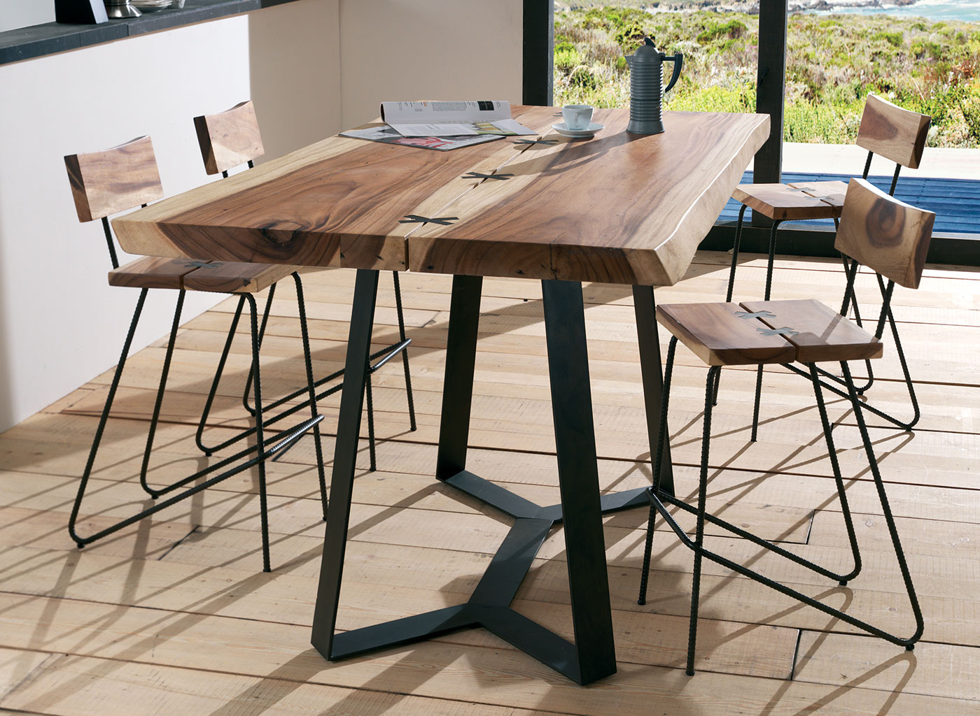 Mobilier Cafe Restaurant Table Bois Restaurant Sz84 Jornalagora