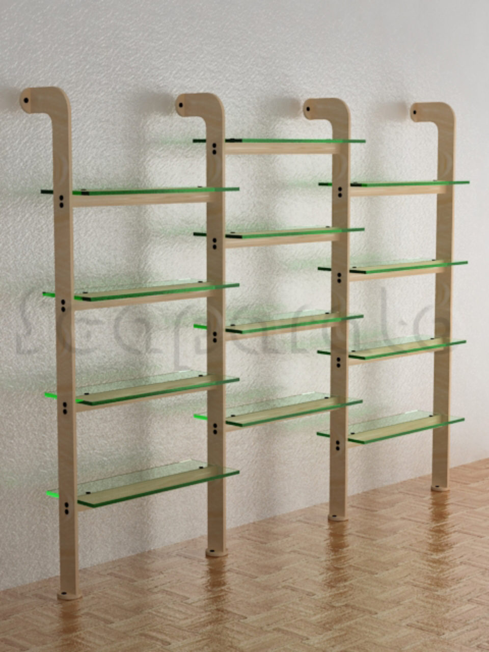 Wall Display Rack Ex23 Scaparato Retail