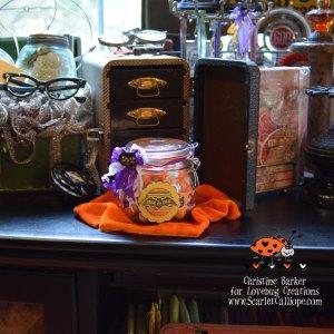 ScarletCalliope Halloween Treat Jar 1