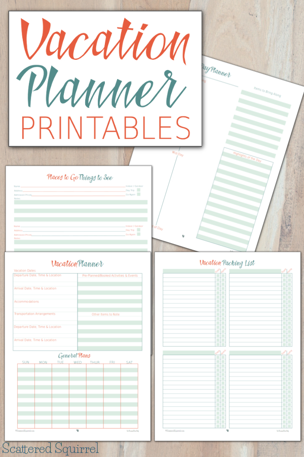 Checklist Template 35 Free Word Excel Pdf Documents Vacation Planner Printables