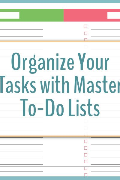 printable to-do lists Archives - Scattered Squirrel