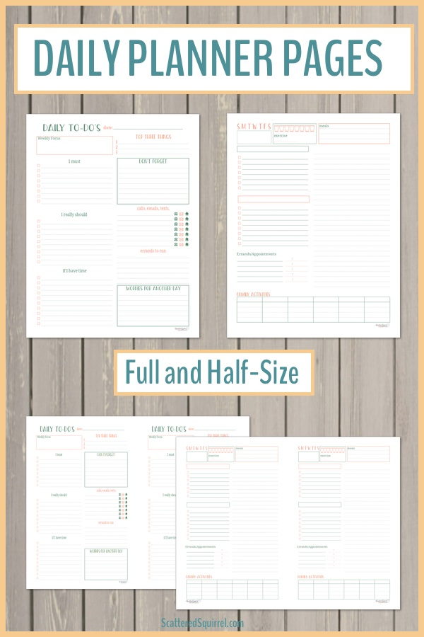 All the Basics for Setting Up Your 2018 Planner