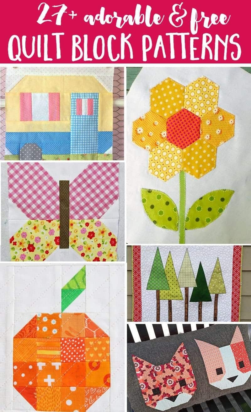 Moderne Quilts 27 Free Quilt Block Patterns