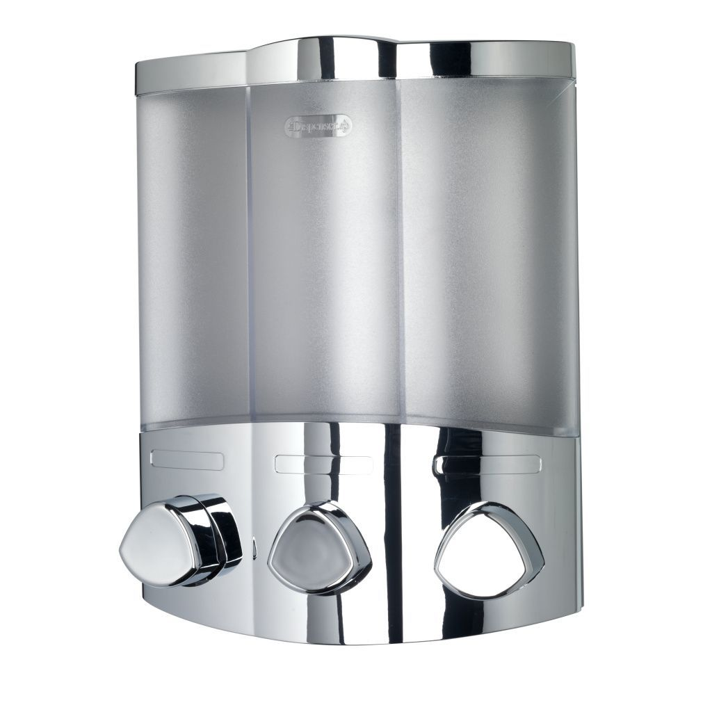 Soap And Shampoo Dispensers For Showers Croydex Euro Trio Bath Shower Soap And Shampoo Dispenser