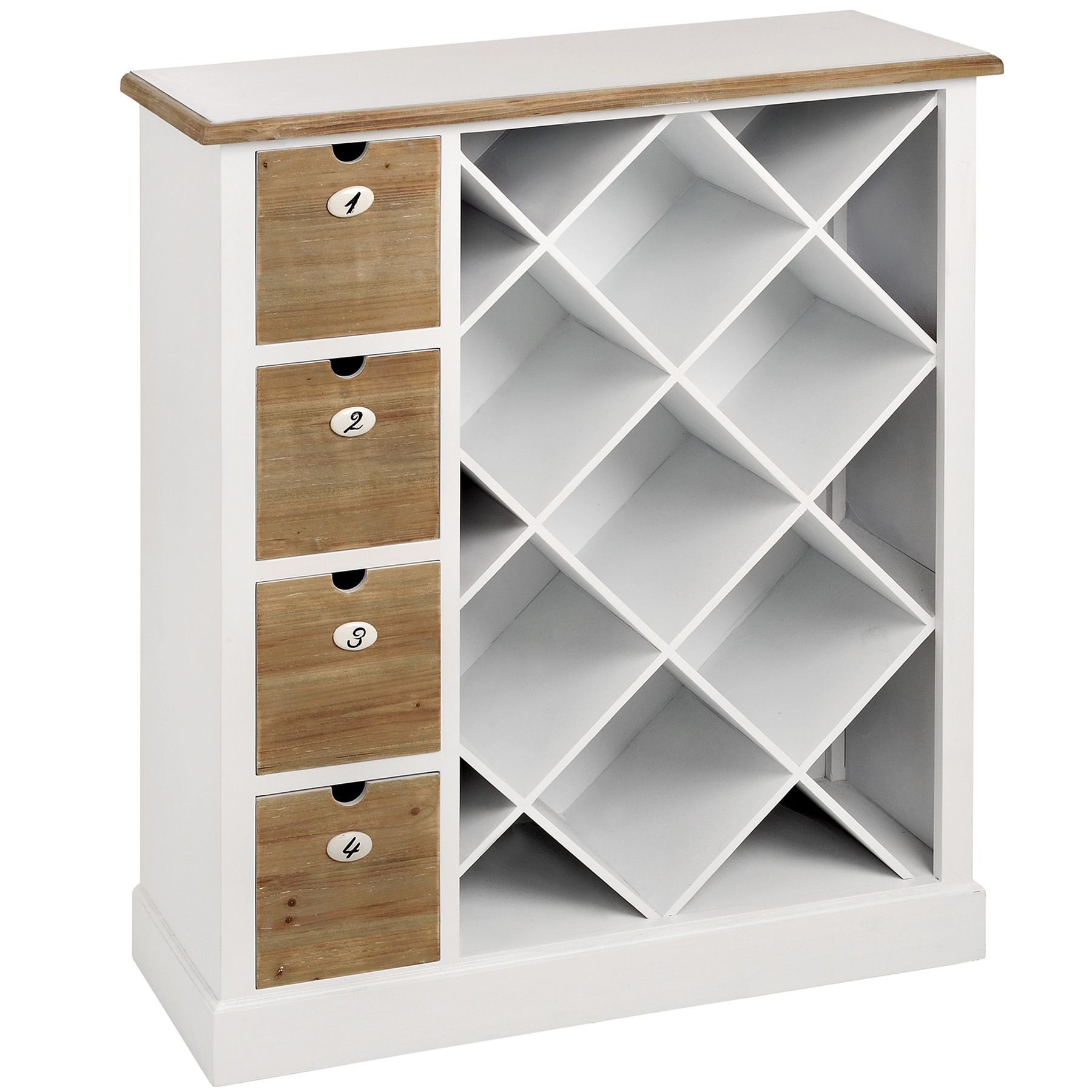 Wood Wine Storage Shaker White Wooden Wine Storage Cabinet