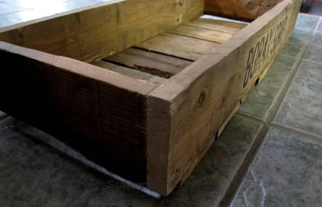 DIY Borax Pallet Crate