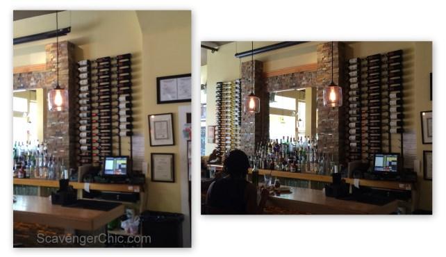 Roscoes Pizzeria  Wine Wall