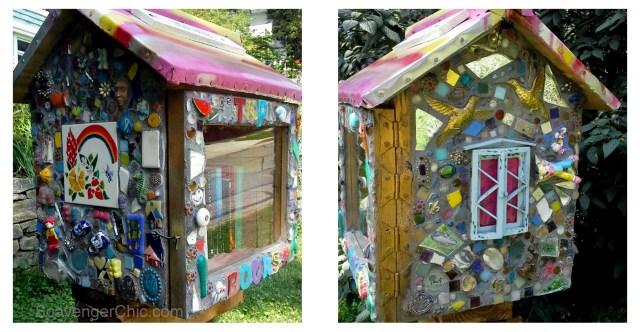 Mosaic Little Lending Library