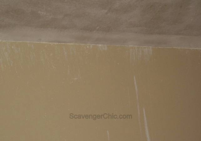 Removing a Popcorn ceiling, diy