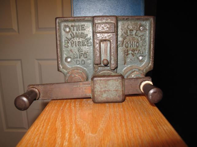 Upcycled Vise, Vise used as book holder, Repurposed vise
