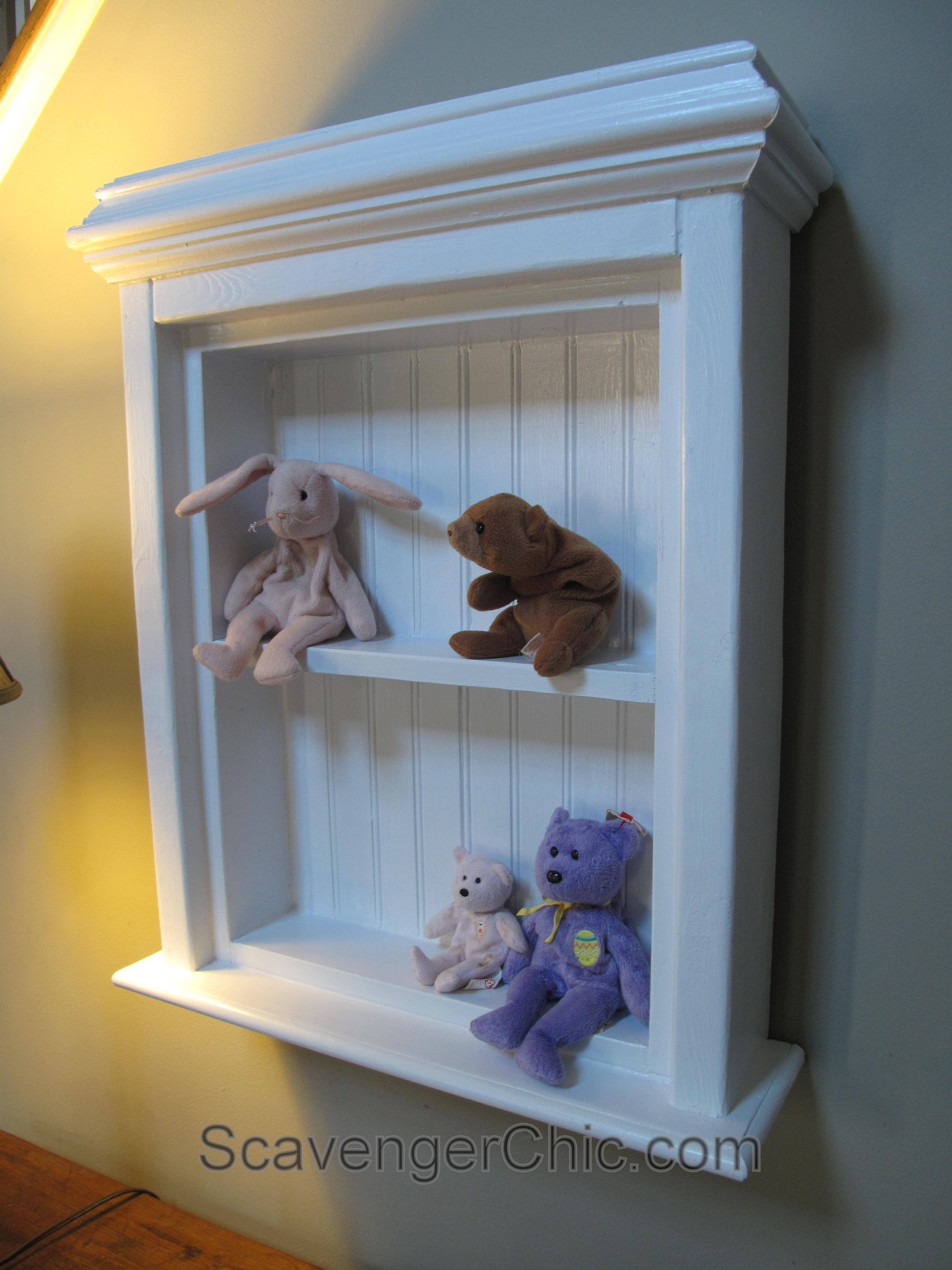 Create a Medicine Cabinet from a Mirror diy – Scavenger Chic