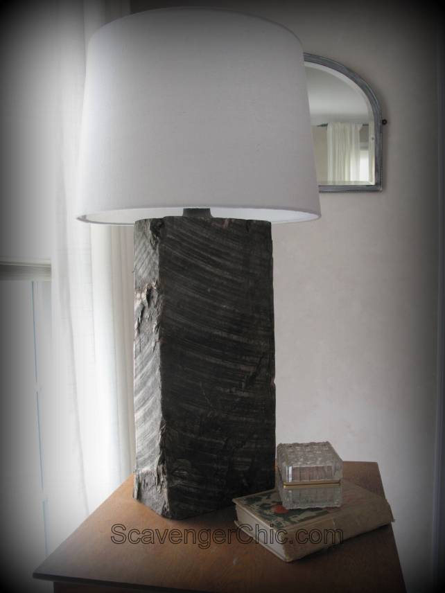 Railroad Tie lamp diy, Homemade Lamp, Repurposed lamp, Recycled Lamp, diy lamps, unique lamps
